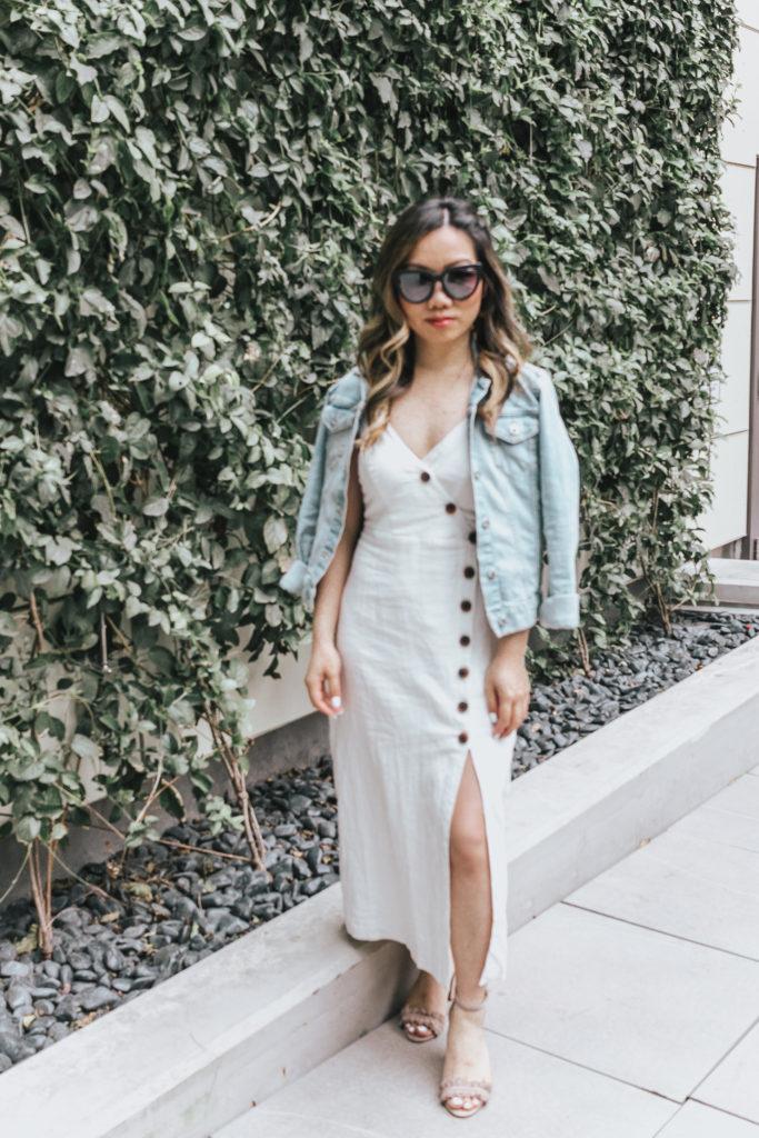 Jenny Tran website white dress