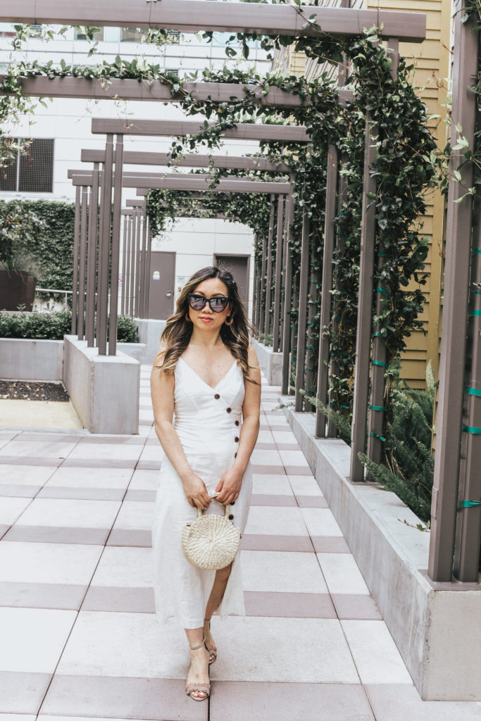 Jenny Tran website white dress