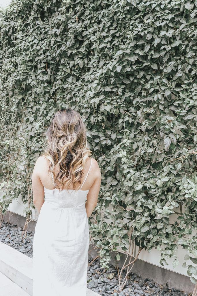 jenny tran website white dress hair braid