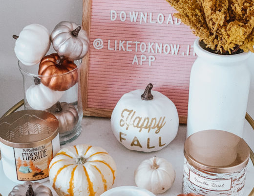 jenny tran website fall decor tips bar cart