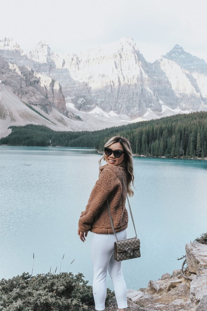 jenny tran moraine lake banff canada