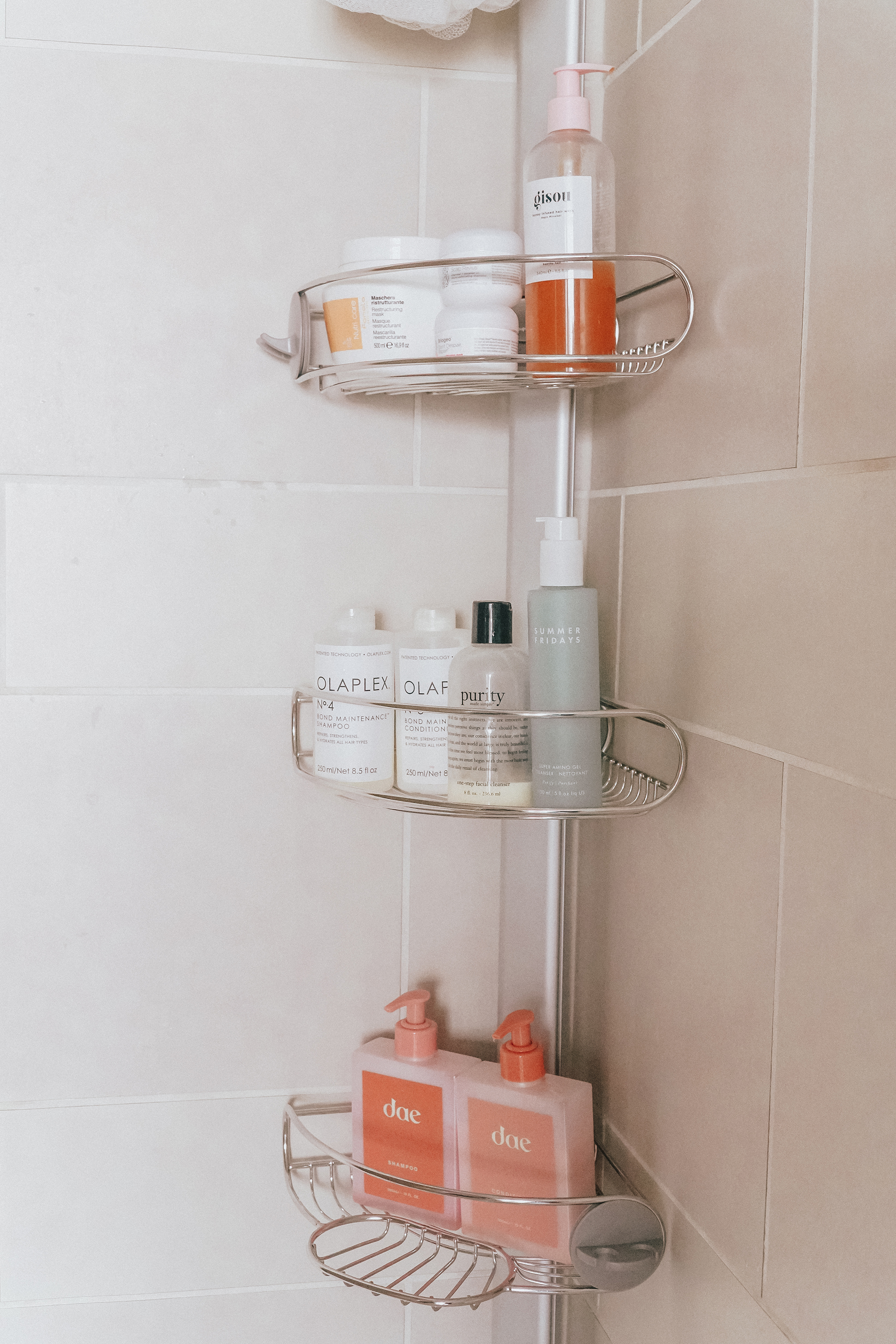 jenny tran home decor bath shower organization